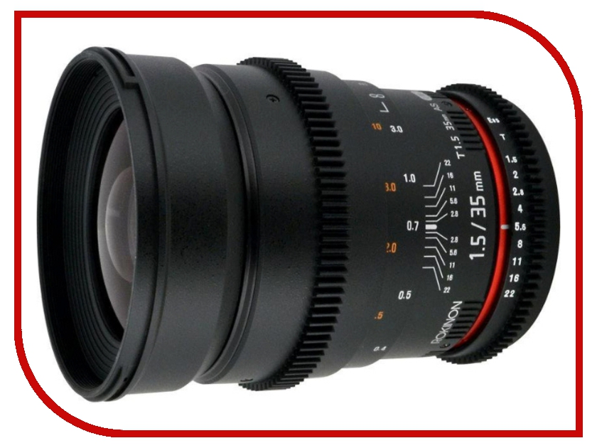 Объектив Samyang Canon MF 35 mm T1.5 ED AS UMC-2 VDSLR от Pleer