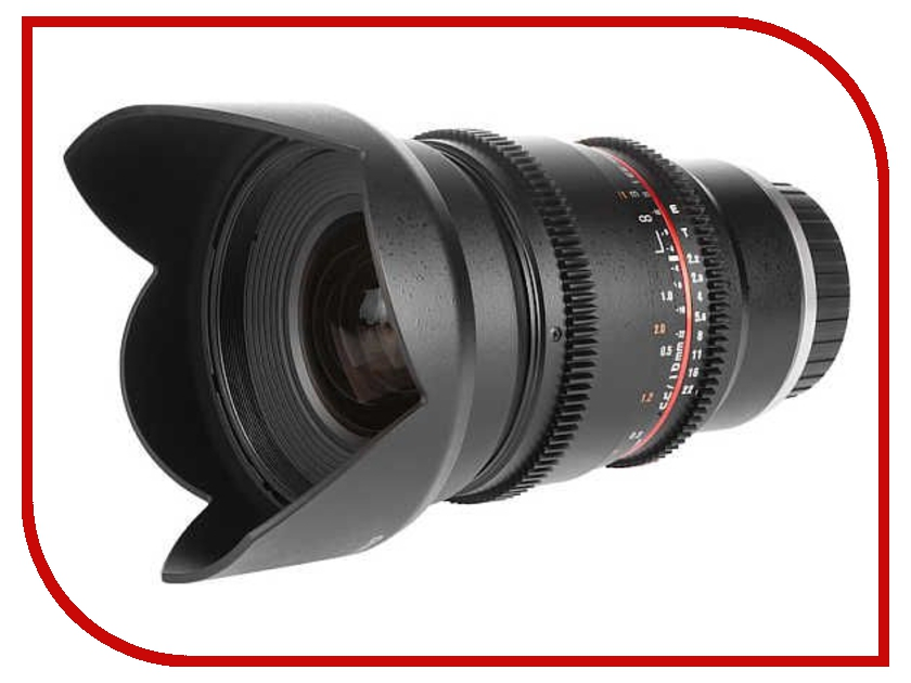 Объектив Samyang Sony E NEX MF 16 mm T2.2 ED AS UMC CS VDSLR<br>