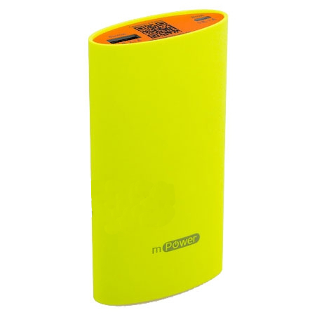 Аккумулятор Gmini mPower Pro Series MPB521 5200 mAh Yellow