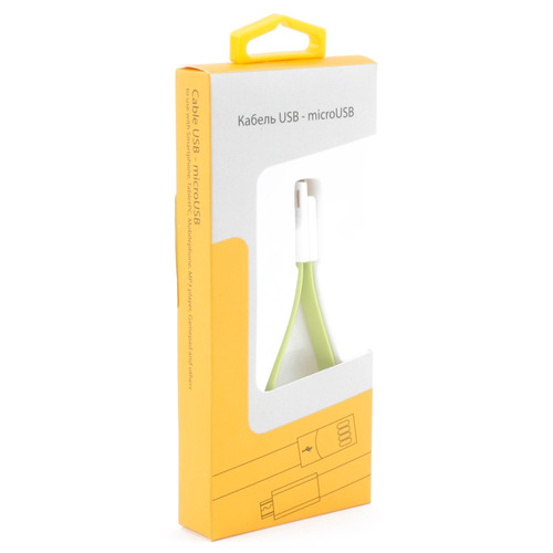 Аксессуар Gmini microUSB mCable MUS200F Green