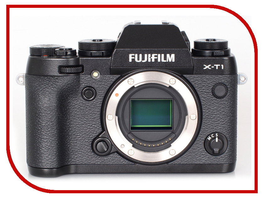 Фотоаппарат FujiFilm X-T1 Body Black t1 spacecam