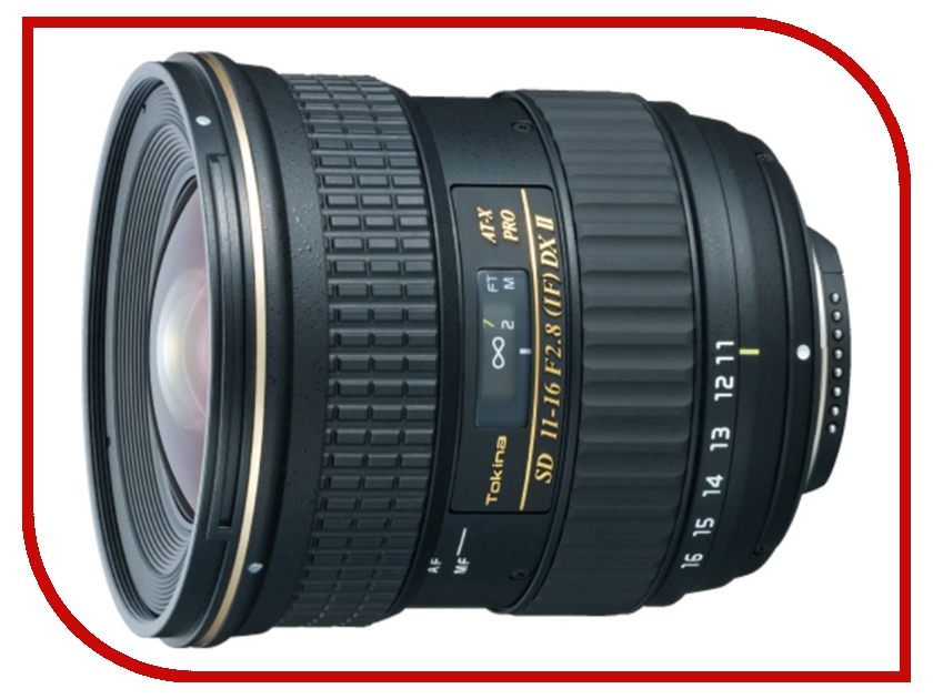 Объектив Tokina Sony / Minolta 11-16 mm F/2.8 AT-X Pro DX II
