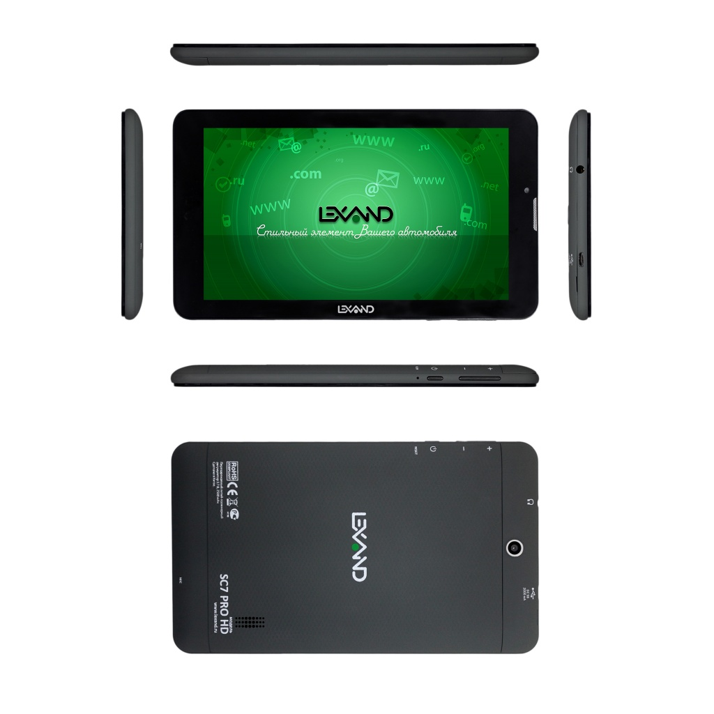 Планшет Lexand SC7 Pro HD (MT8312 1.3GHz /1024Mb/8Gb/GPS/Wi-Fi/3G/Bluetooth/Cam/7.0/1024x600/Android)