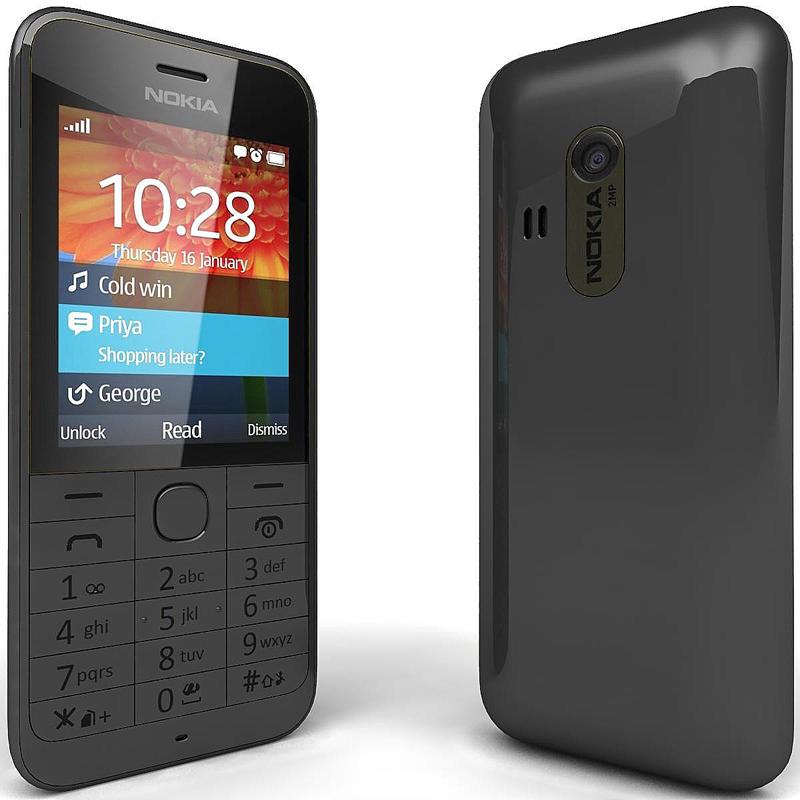 Сотовый телефон Nokia 220 Black<br>