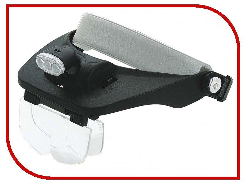Оптическая лупа Veber 81001-3Led