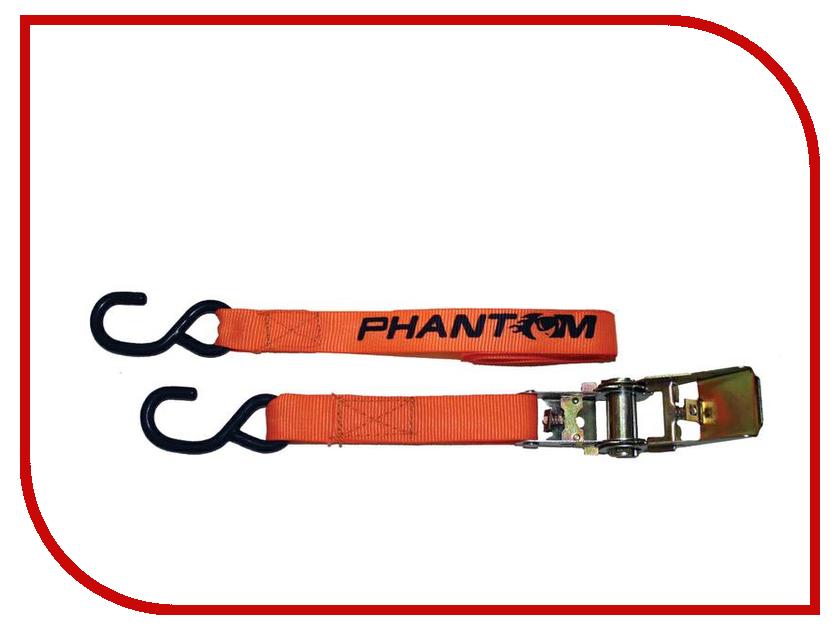Крепеж Phantom PH6422 - ремень для крепления багажа с трещоткой, 2.5m<br>