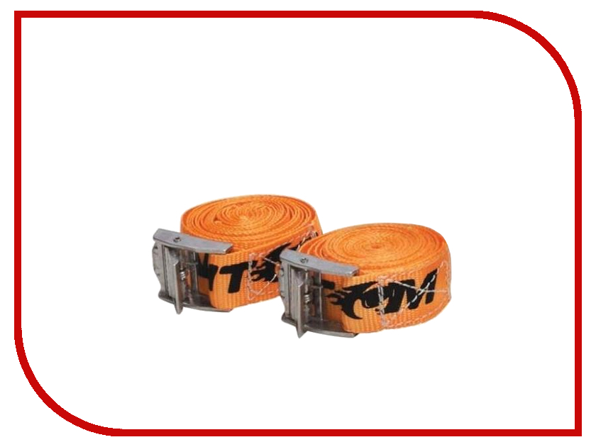 Крепеж Phantom PH6423 - ремень для крепления багажа с фиксатором, 2.5m<br>