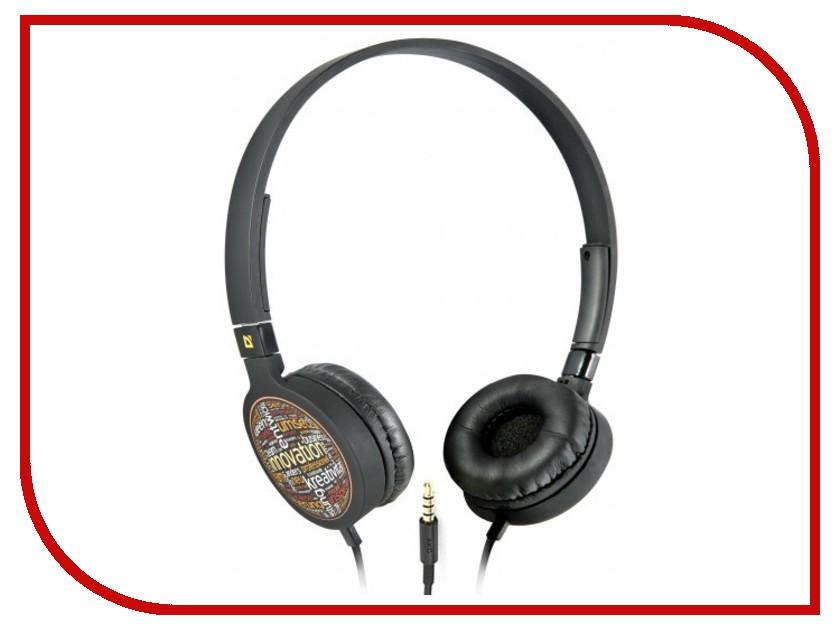 Гарнитура Defender Accord HN-048 Black 63051<br>