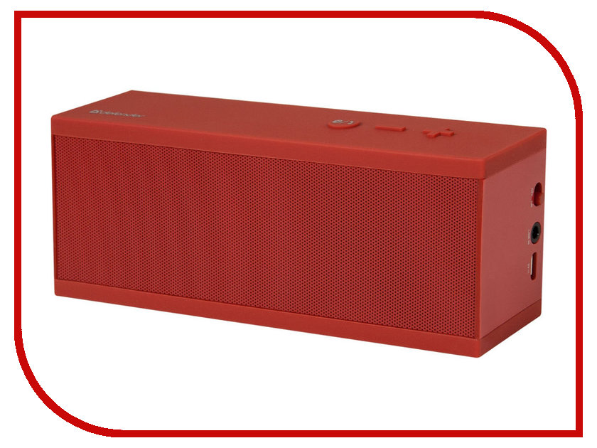 Колонка Defender PartyBox S6 Red 65576 колонка defender spk 165 170 65165