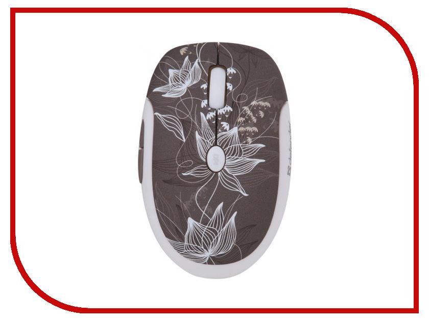 Мышь беспроводная Defender To-GO MS-565 Nano Rock Bloom 52569<br>