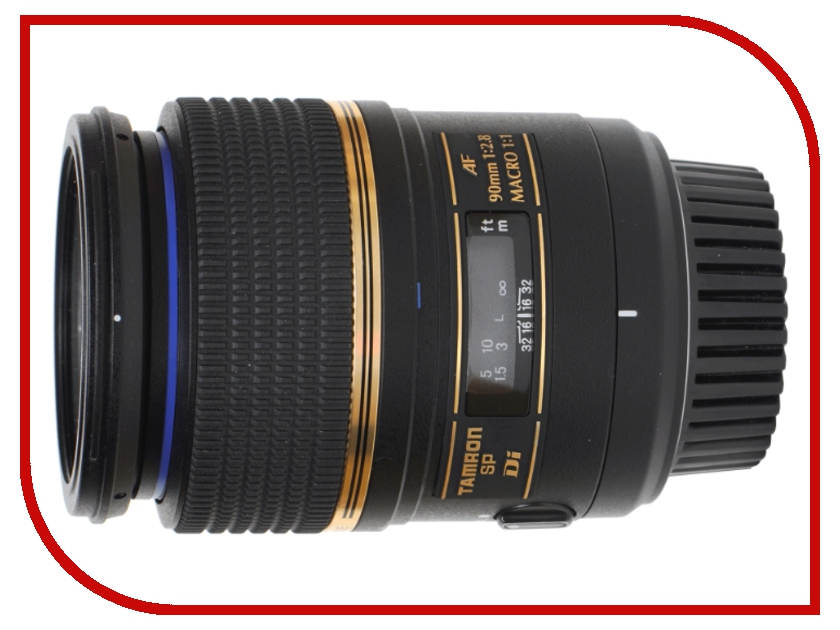 Объектив Tamron Canon SP AF 90 mm F/2.8 Di Macro 1:1<br>