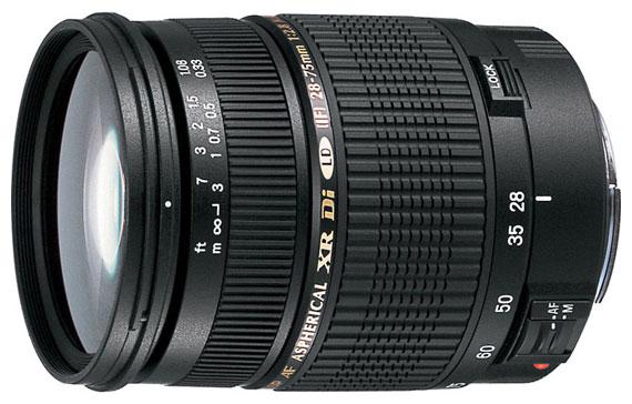 Объектив Tamron SP AF 28-75mm f/2.8 XR Di LD Aspherical (IF) Canon EF цена