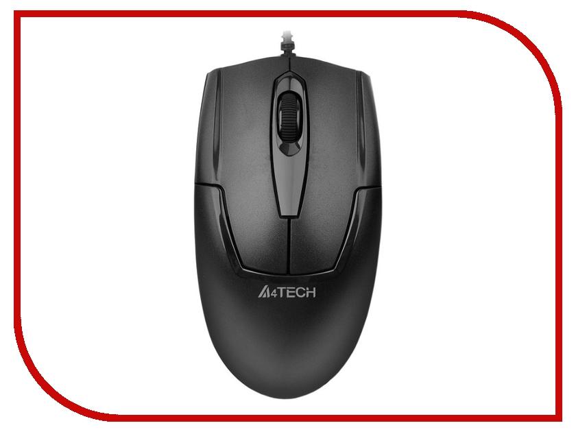 Мышь проводная A4Tech OP-540NU Black USB