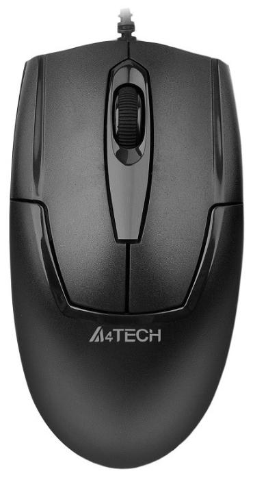 лучшая цена Мышь A4Tech OP-540NU Black USB