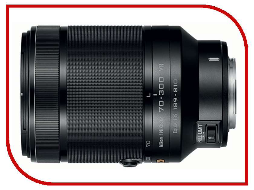 Объектив Nikon Nikkor 70-300 mm F/4.5-5.6 VR for Nikon 1<br>
