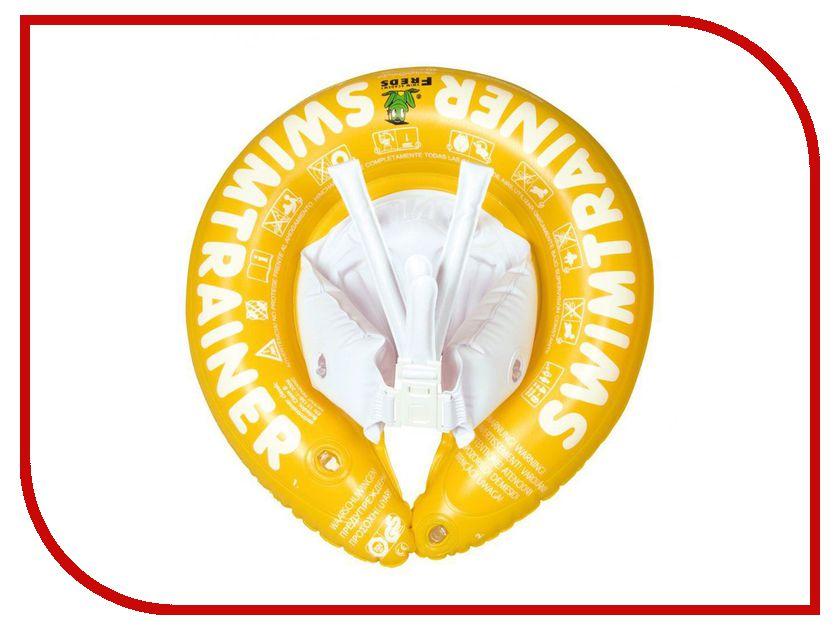 Надувной круг Swimtrainer Classic от 4-х до 8-и лет Yellow круг надувной swimtrainer classic от 3 месяцев до 4 лет цвет красный 10110