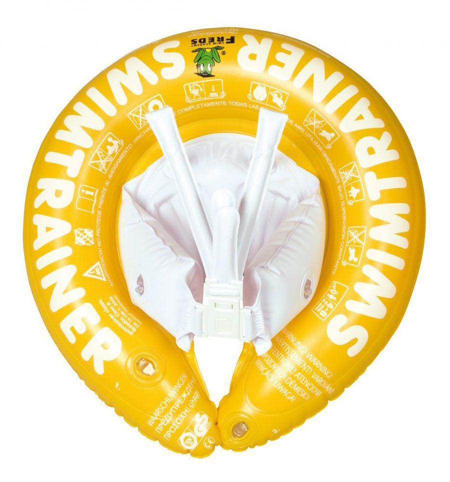 Надувной круг Swimtrainer Classic Yellow<br>
