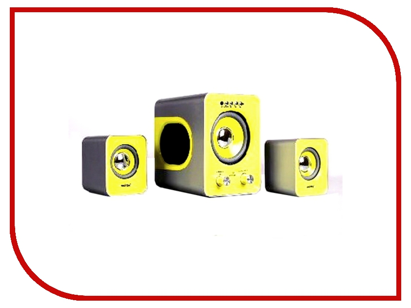 Колонки Smartbuy BUZZ Black-Yellow SBA-2610<br>