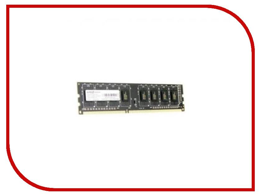 Модуль памяти AMD DDR3 DIMM 1600MHz PC3-12800 - 4Gb R534G1601U1S-UO модуль памяти amd ddr3 dimm 1600mhz pc3 12800 cl11 4gb r534g1601u1s ugo