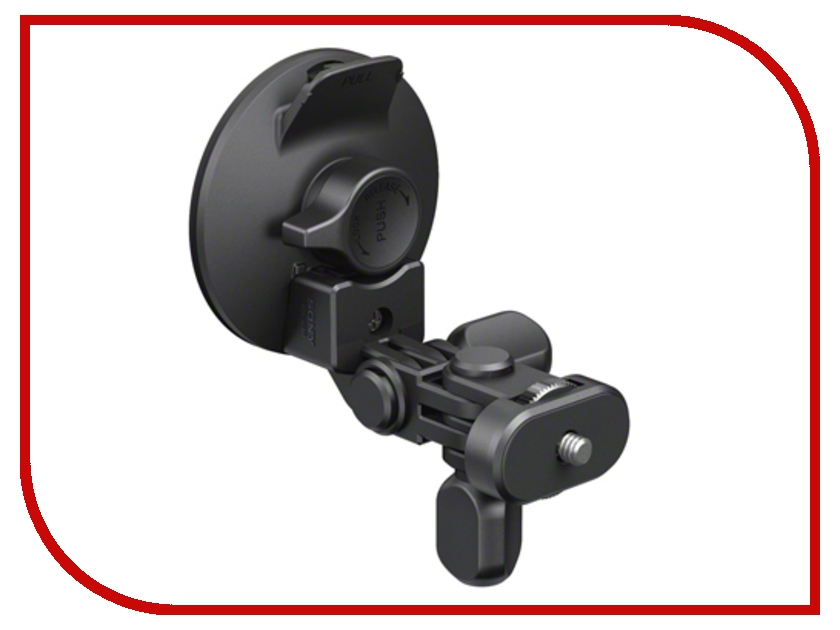 Фото - Аксессуар Резиновая суперприсоска Sony VCT-SCM1 Suction Cup Mount toz 360 rotating car mount suction cup holder for gps 1 4 camera black