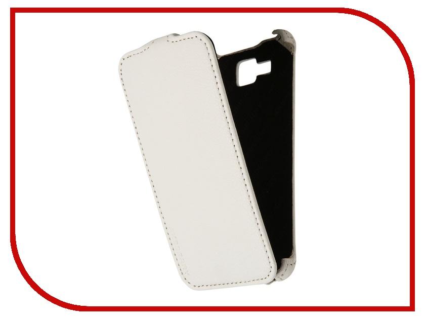 Аксессуар Чехол Alcatel OneTouch 6034 Idol S Aksberry White<br>