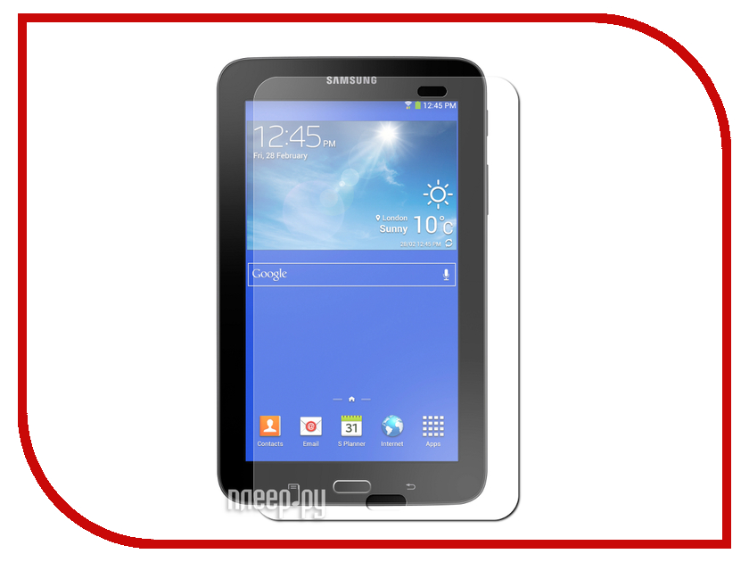 Аксессуар Защитная пленка Samsung Galaxy Tab 3 Lite SM-T110 / SM-T111 Ainy матовая