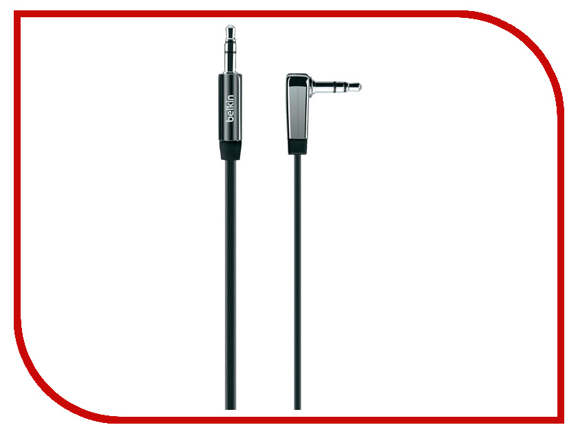 Аксессуар Belkin Mixit AUX Cable AV10128cw03-BLK Black аксессуар belkin mixit flat f8j144bt04 slv silver
