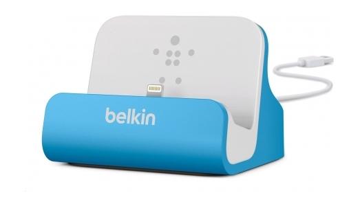 Аксессуар Док-станция Belkin ChargeSync Dock for iPhone 5 Blue F8J045btBLU