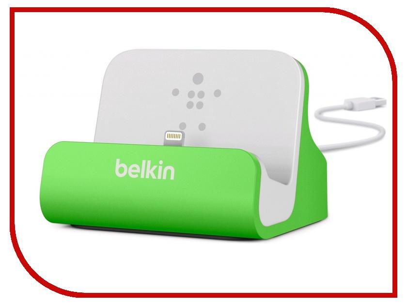 ��������� ���-������� Belkin ChargeSync Dock ��� iPhone 5 Green F8J045btGRN