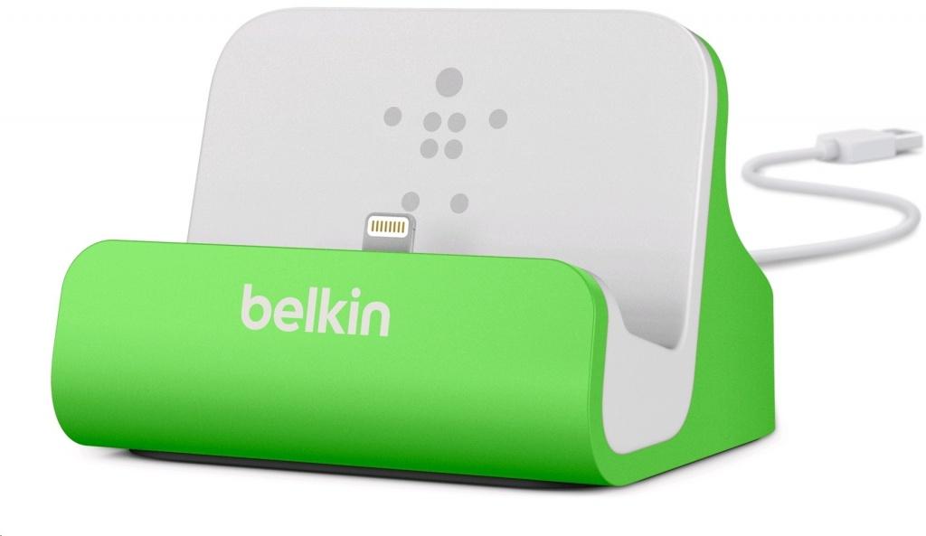 Аксессуар Док-станция Belkin ChargeSync Dock for iPhone 5 Green F8J045btGRN