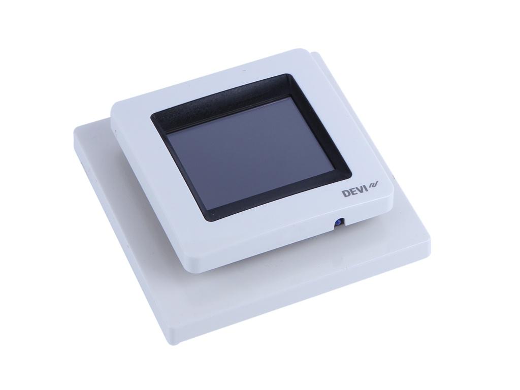 Терморегулятор DEVI DEVIreg Touch White 140F1064 цена и фото
