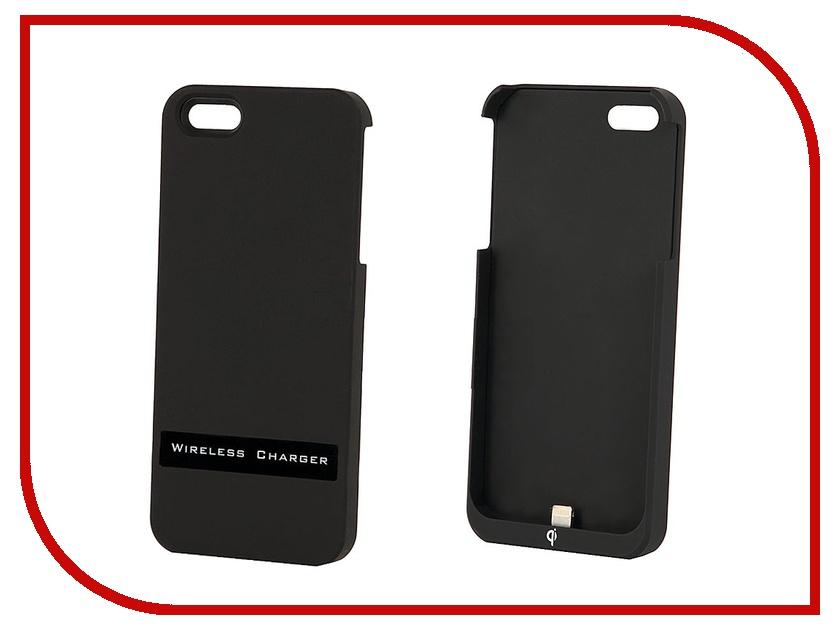 Аксессуар Чехол Palmexx QI for iPhone 5 Black PX/AD QI Iph 5 BL с беспроводной зарядкой<br>