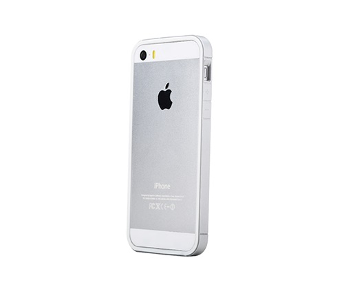 Аксессуар Чехол-бампер ROCK Extra Thin for iPhone 5 / 5S Silver 62386