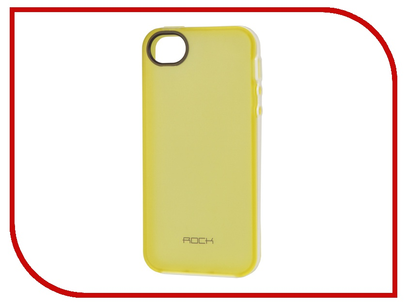 Аксессуар Чехол ROCK Joyful Protective Shell для iPhone 5 / 5S / SE Yellow 24360<br>