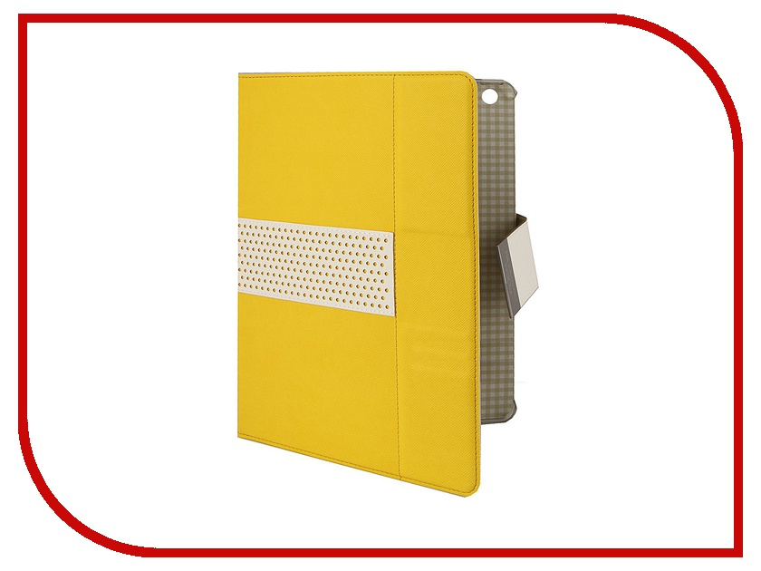 Аксессуар Чехол ROCK Excel Side Flip for iPad Air Lemon Yellow 58167