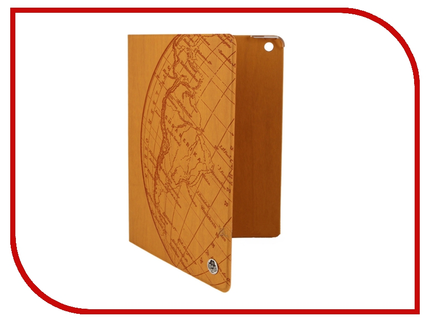 Аксессуар Чехол ROCK Impress Side Flip for iPad Air Orange 58594<br>