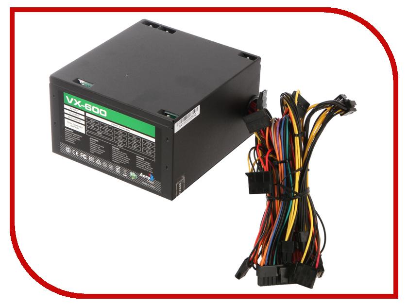 Блок питания AeroCool Retail VX-600 600W