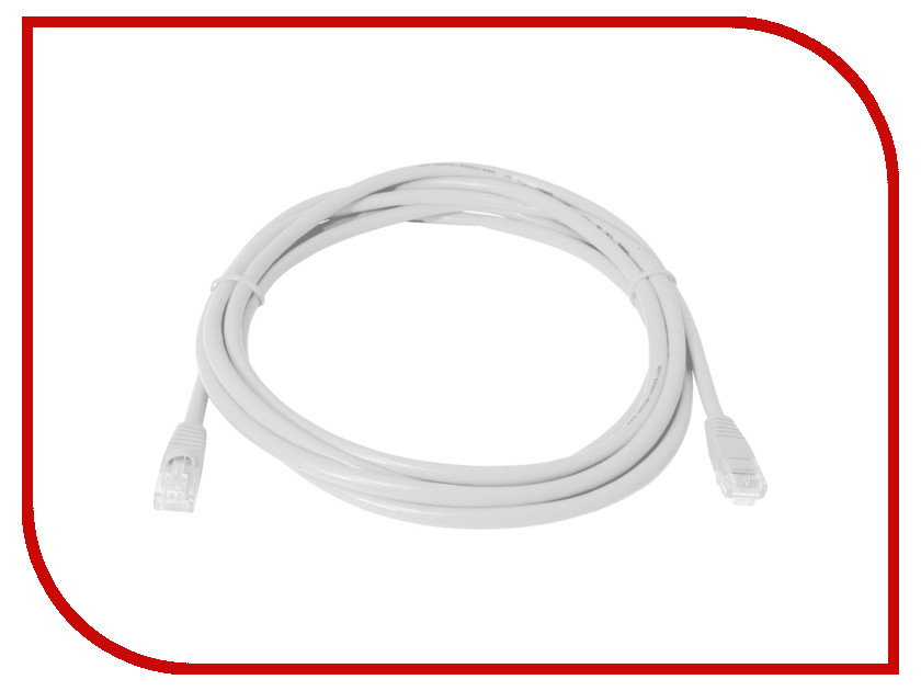 Сетевой кабель Telecom UTP cat.5e 2m Grey кабель telecom sftp 5e кат