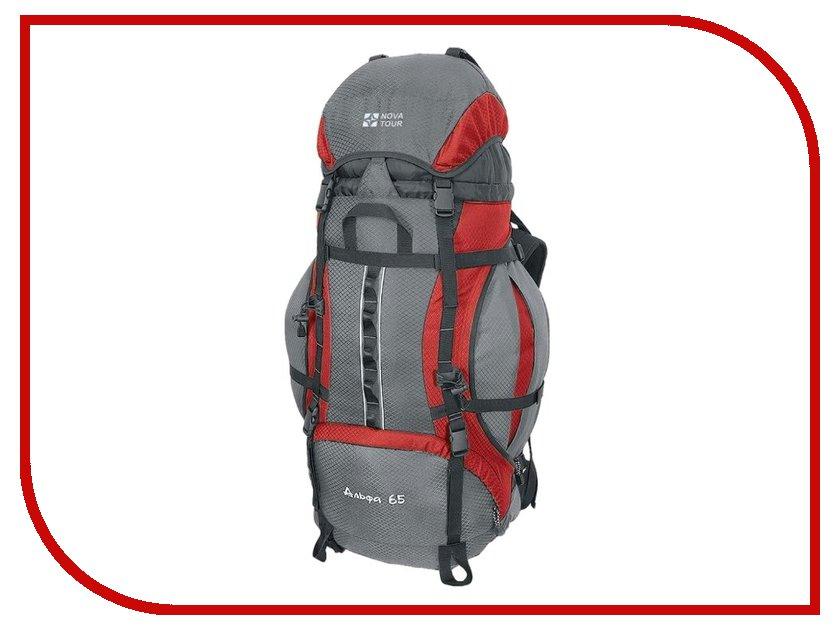 Рюкзак Nova Tour Альфа 65 V2 Grey-Red 95311-057-00