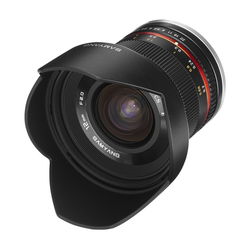 Объектив Samyang Canon EF-M MF 12 mm F/2.0 NCS Black от Pleer