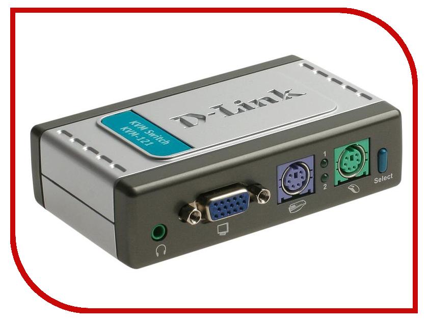 Переключатель KVM D-Link KVM-121