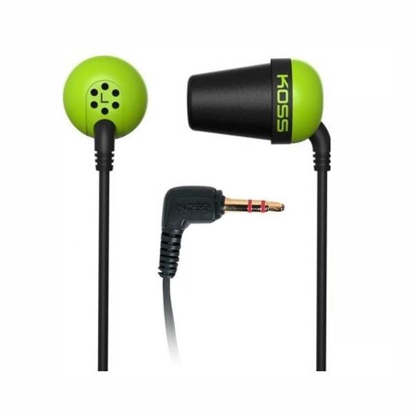 Наушники Koss The Plug Green цена