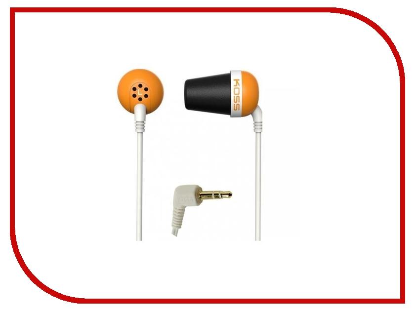 Наушники Koss The Plug Orange koss the plug blue