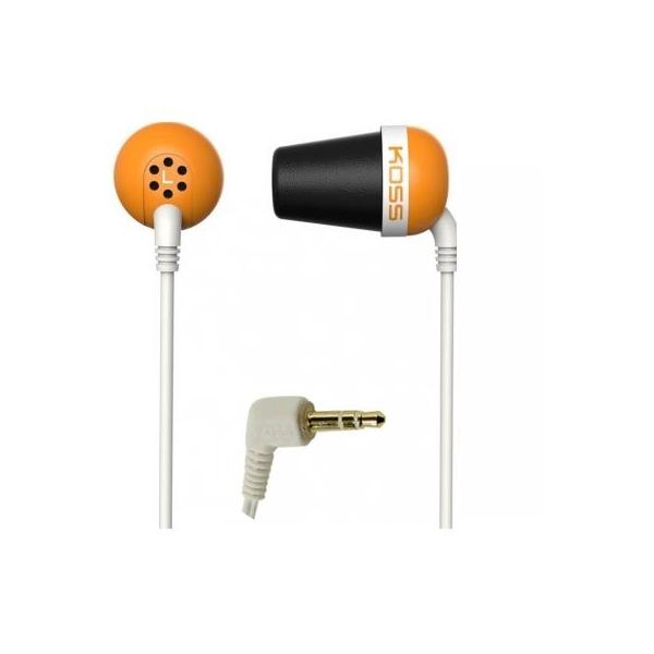 Наушники Koss The Plug Orange цена