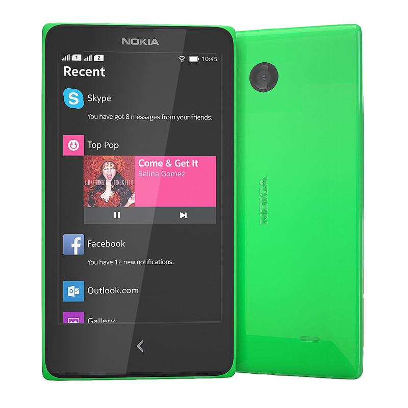 Сотовый телефон Nokia X Dual Sim Green