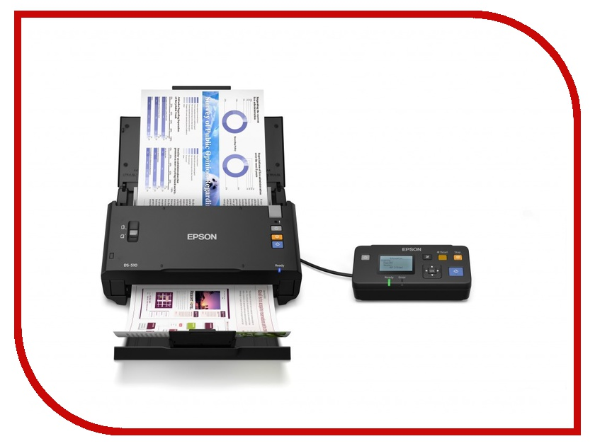 Сканер Epson WorkForce DS-510N B11B209301CZ<br>