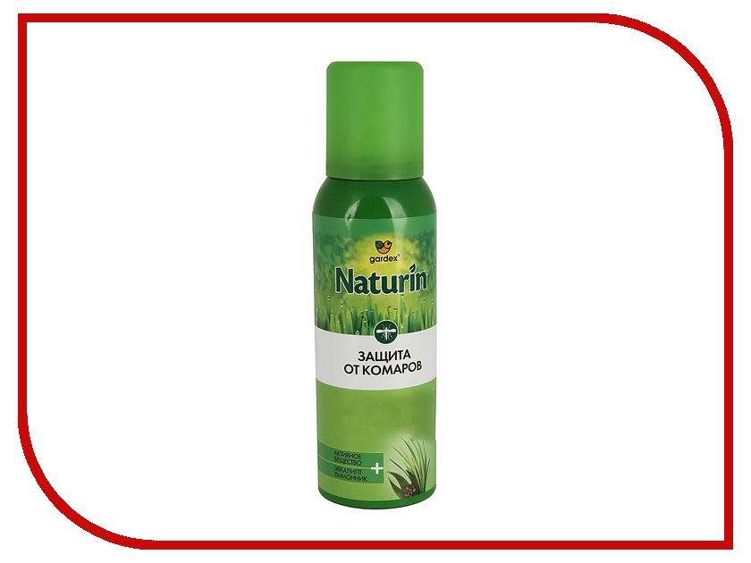 Средство защиты от комаров Gardex Naturin Аэрозоль-репеллент от комаров 100 мл<br>
