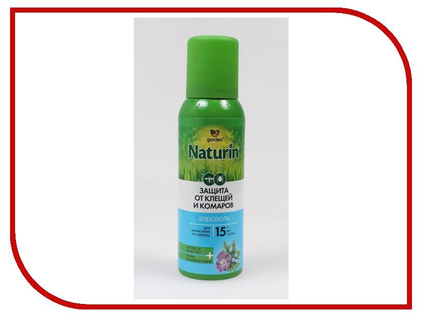 Средство защиты от комаров Gardex Naturin Аэрозольот комаров и клещей 100ml