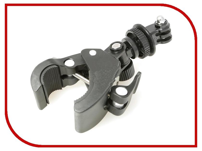 Аксессуар Крепление-струбцина Fujimi GP BHSM-5 на трубы диаметром до 3,5см для GoPro аксессуар fujimi gp brk 005 для gopro набор креплений и клейких лент