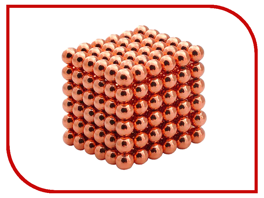 Магниты NeoCube Альфа 216 5mm Orange<br>